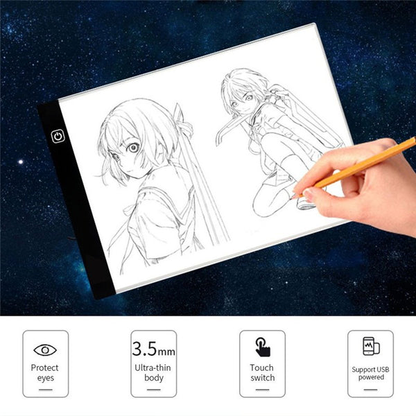 Portable A3/A4 LED Artcraft Tracing Light Pad