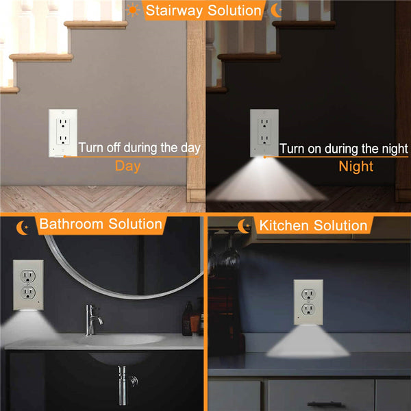 Outlet Wall Plate LED Night Lights