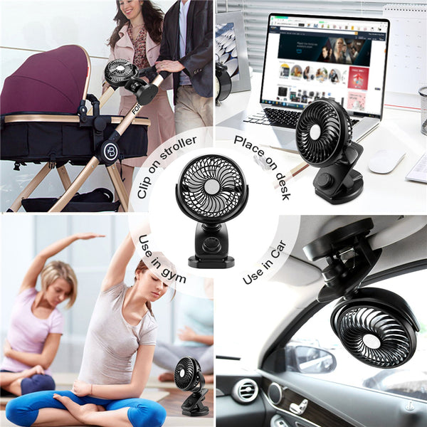 Mini USB Desk Clip Fan