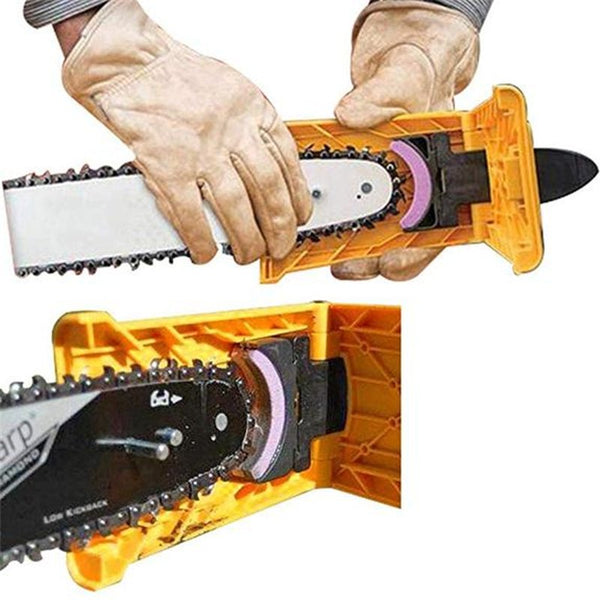 Portable Proprietary Chainsaw Teeth Sharpener