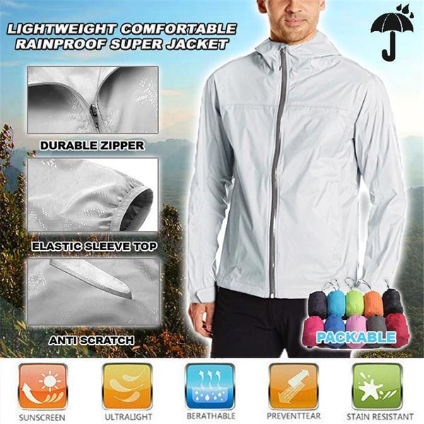 Ultra-Light Comfortable Rainproof Super Jacket