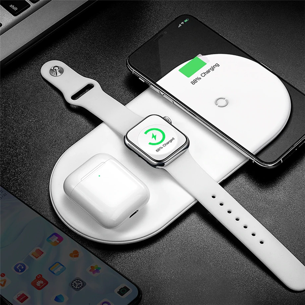 3-in-1 Fast Wireless Charging Stand