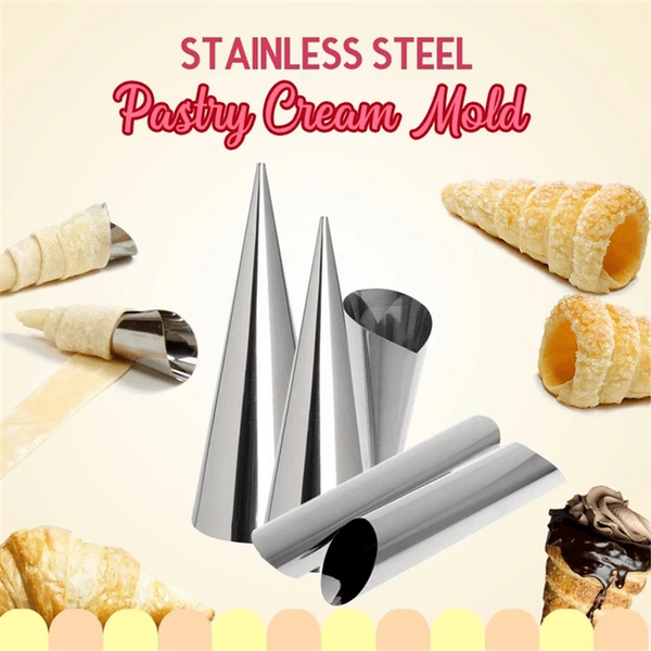 Cone Pastry Roll Horn Baking Mold