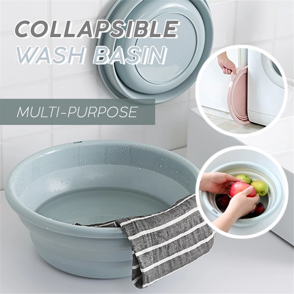 Multi-function Collapsible Wash Basin