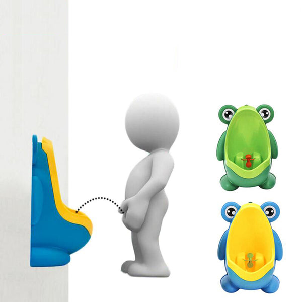 Baby Boy Frog Potty Training Stand