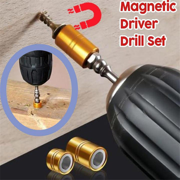Durable Magnetic Driver Drill Set