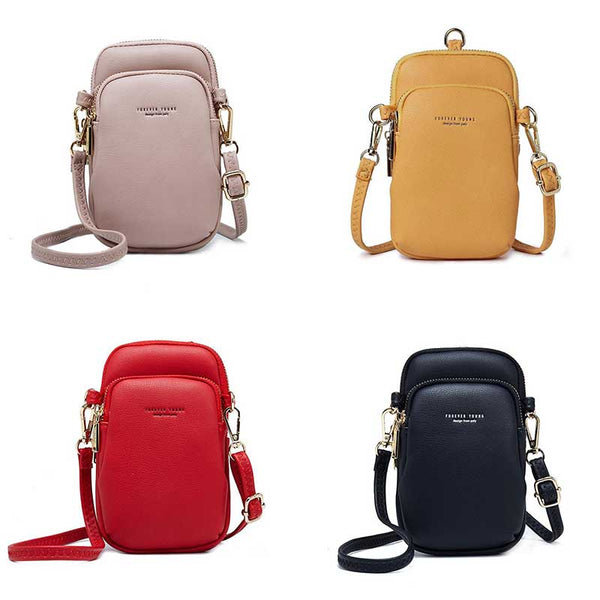 Women Cellphone Crossbody Shoulder Bag Small Pouch Wallet