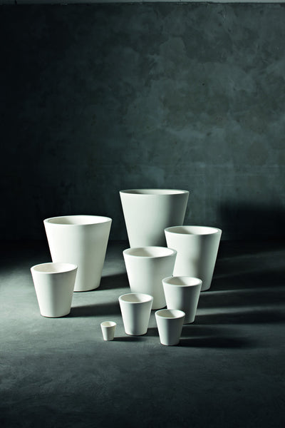 Serralunga New Pot family in white