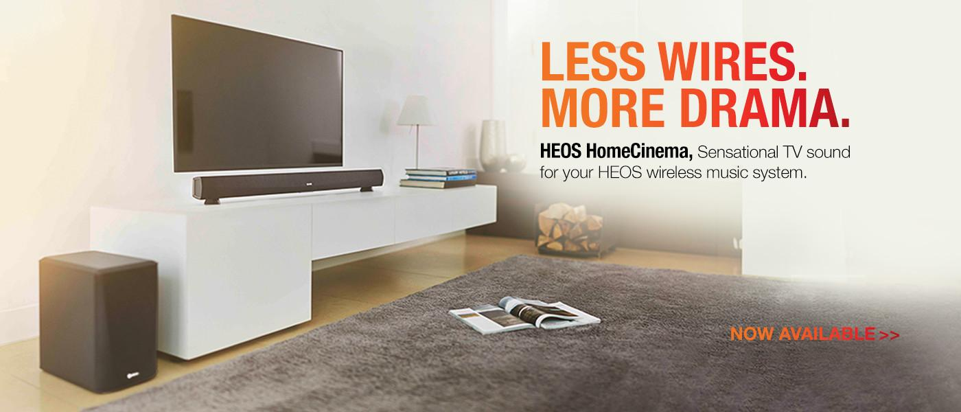 HEOS by Denon wireless speakers