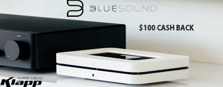 Bluesound CASH BACK Offer Oct 2020