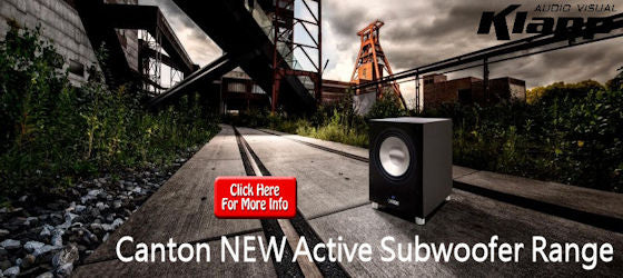 Canton New Active Subwoofer Range