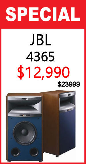 JBL 4365 Three Way Floor Type Studio Monitors