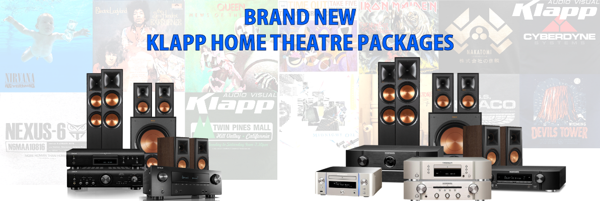 KLAPP Home Theatre Package Deals