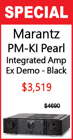 PM-KI Pearl Integrated Amplifier - Ex Demo - Black