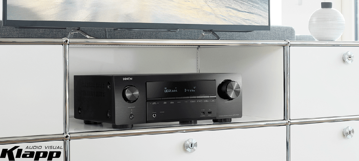 Denon AVRX1600 7 2ch 4K Ultra HD AV Receiver | Klapp Audio
