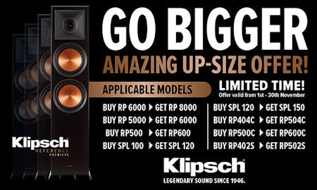 Klipsch Go Bigger Offer