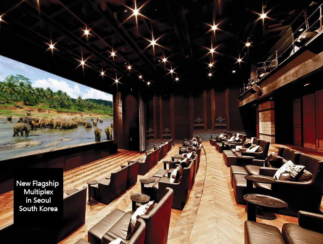 classe amplifiers in multiplex in Seol South Korea