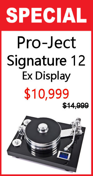 Signature 12 High-end Turntable - Black - Ex Display