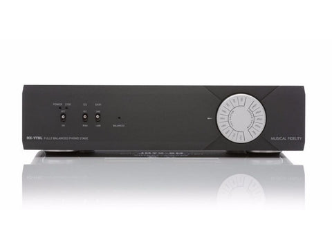 MX-VYNL Fully Balanced MM/MC Phono Pre-amplifier Black