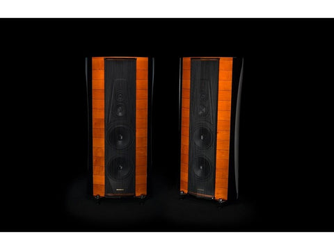 Stradivari Homage Floorstanding Loudspeaker Pair Red Violin