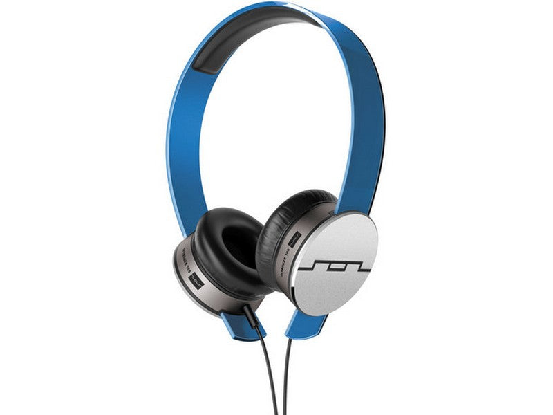 SOL REPUBLIC TRACKS HD V10 ON-EAR HEADPHONES Blue