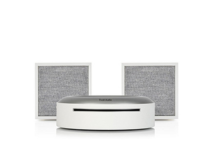 ART Wireless 2xCube Speakers with Model CD Player White