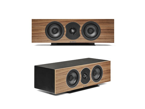 Lumina Centre I Single Speaker Walnut