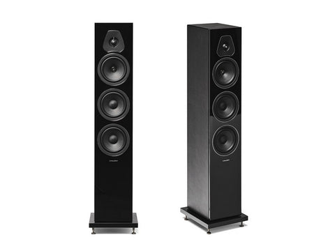 Lumina III 3-way Floorstanding Speaker Pair Black