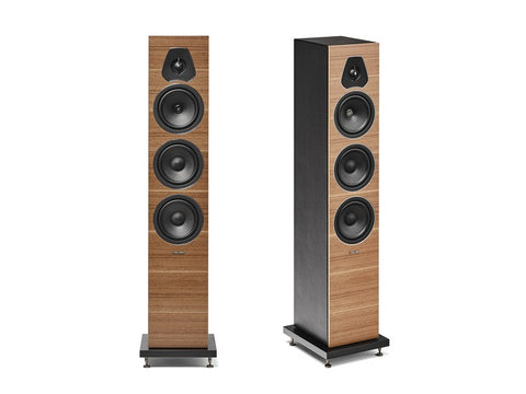 Lumina III 3-way Floorstanding Speaker Pair Walnut