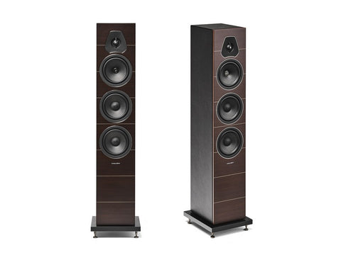 Lumina III 3-way Floorstanding Speaker Pair Wenge