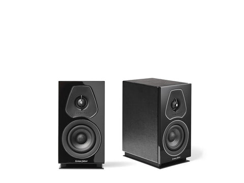 Lumina I Bookshelf Speaker Pair Black
