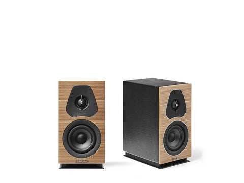 Lumina I Bookshelf Speaker Pair Walnut