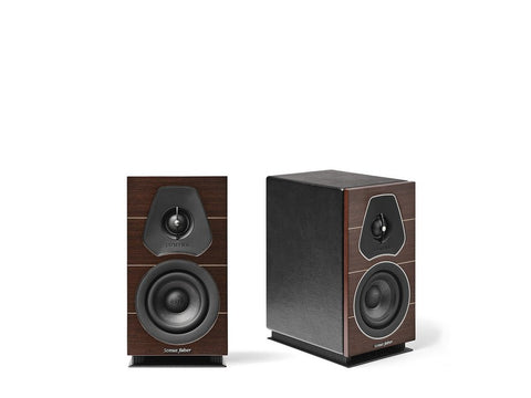 Lumina I Bookshelf Speaker Pair Wenge