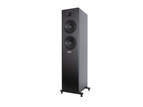 WIZARD S6 Vented 3-way Floorstanding Speaker Pair Black