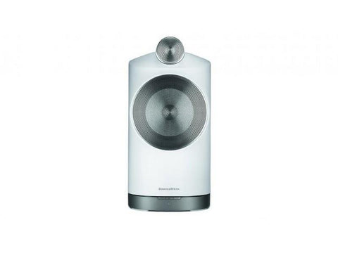 Formation DUO Wireless Loudspeaker Pair White with Silver Stands