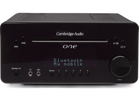 Cambridge Audio One Music System Black Display Stock Clearance