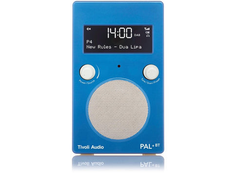 PAL+ BT Gen2 DAB/DAB+/FM Portable Radio with Bluetooth Blue/White