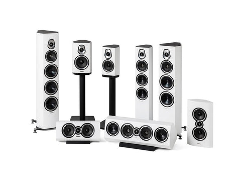 Sonetto II Speaker Pair White