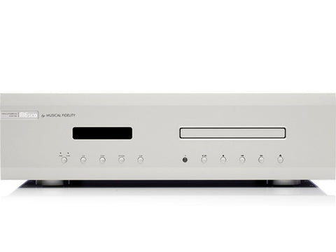 M6sCD: CD Player and DAC Silver