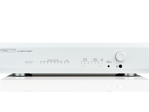 M6sR DAC Pre-amp & Headphone Amplifier Silver