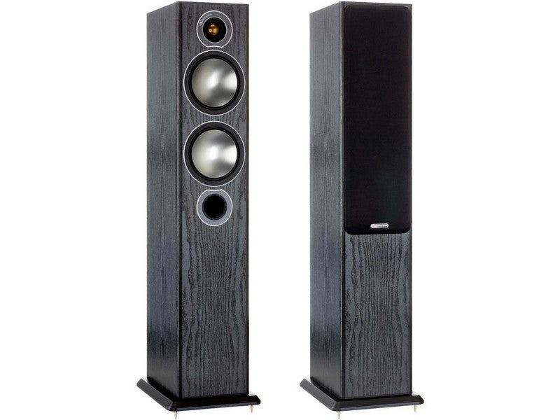 Bronze 5 Speaker Pair Black Oak