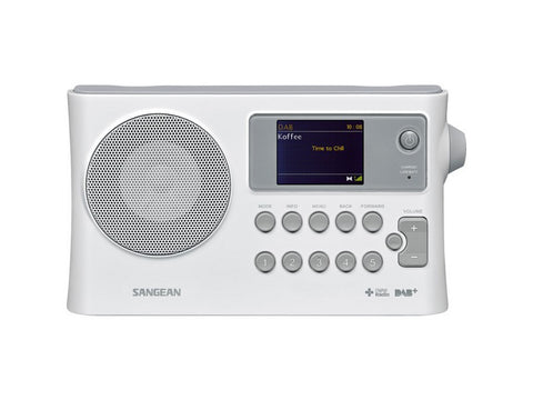 DPR16C DAB+ FM Digital Radio Rechargeable White