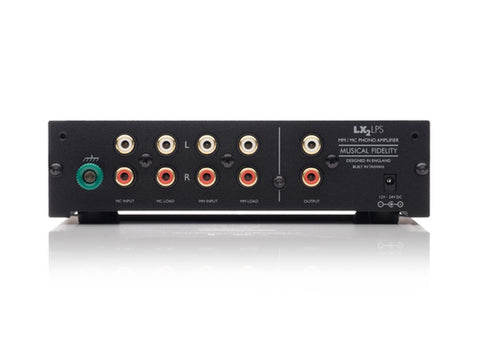 LX2-LPS Dual Input MM/MC Phono Pre-amplifier SILVER