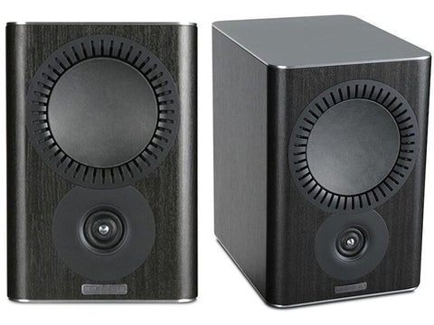QX-1 Bookshelf Speaker Pair Blackwood