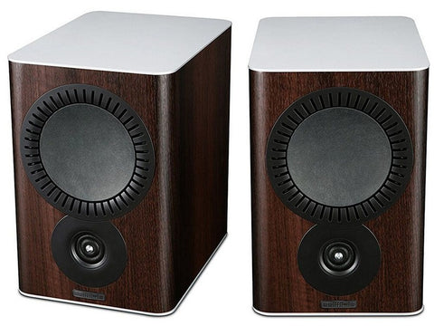 QX-2 Bookshelf Speaker Pair Walnut