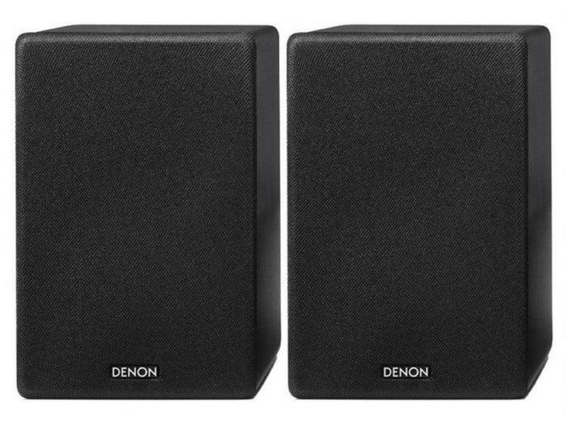 SCN10 Compact Bookshelf Speaker Black Pair