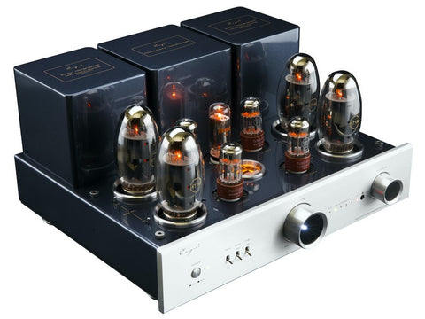 CS-150A Integrated Tube Amplifier Silver