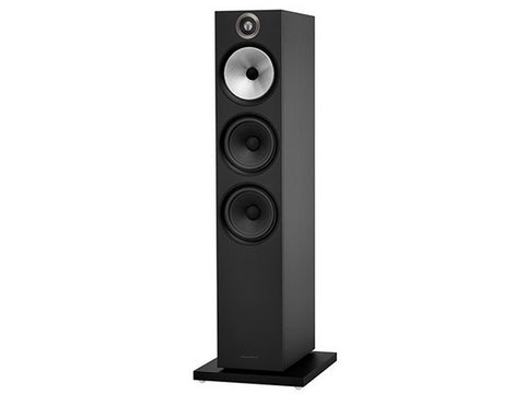 603 Floorstanding Speaker Pair Matte Black - New 600 Series