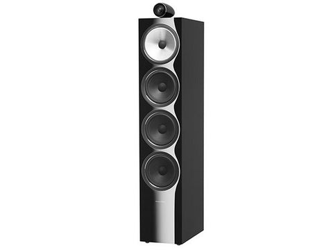 702 S2 3-WAY Floor Standing Speaker Pair Gloss Black