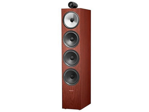 702 S2 3-WAY Floor Standing Speaker Pair Rosenut